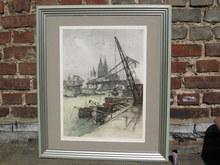 Luigi KASIMIR - Print-Multiple - Köln, Deutzer Hafen