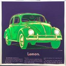 安迪·沃霍尔 - 版画 - Volkswagen (FS II.358)