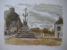 Pierre-Eugène CLAIRIN - Print-Multiple - LITHOGRAPHIE SIGNÉ AU CRAYON NUM/100 HANDSIGNED LITHOGRAPH