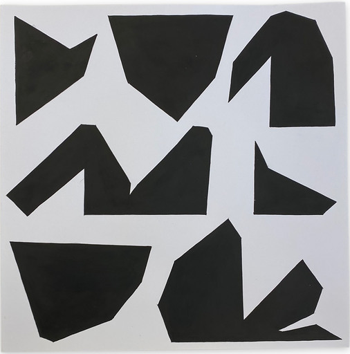 Ulla PEDERSEN - Pittura - Cut-Up Paper 2002
