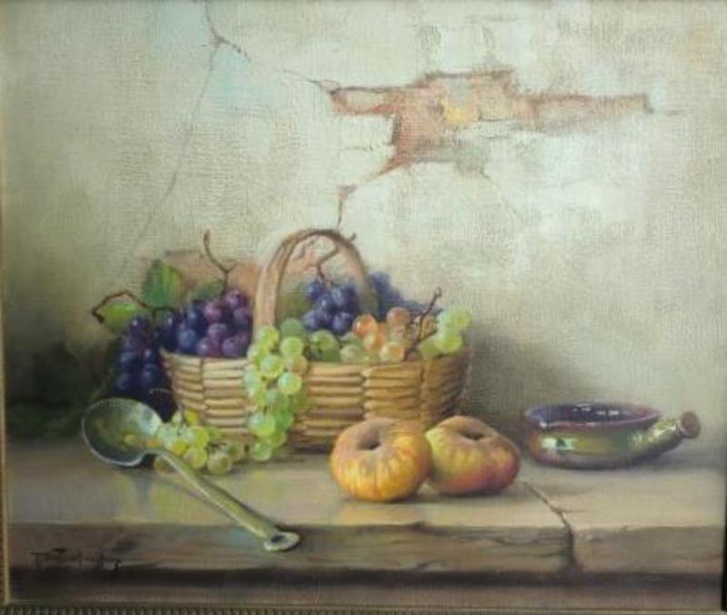 Robert CHAILLOUX - Peinture - nature morte