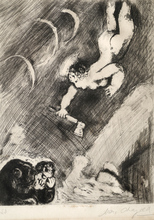 Marc CHAGALL - Estampe-Multiple - Mercury and the Wood Cutter