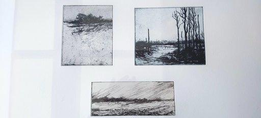 Klaus BÖTTCHER - Druckgrafik-Multiple - Landschaftsvariationen