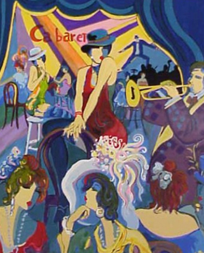 Isaac MAIMON - Print-Multiple - Cabaret