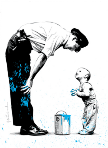 MR BRAINWASH - Print-Multiple - Not Guilty