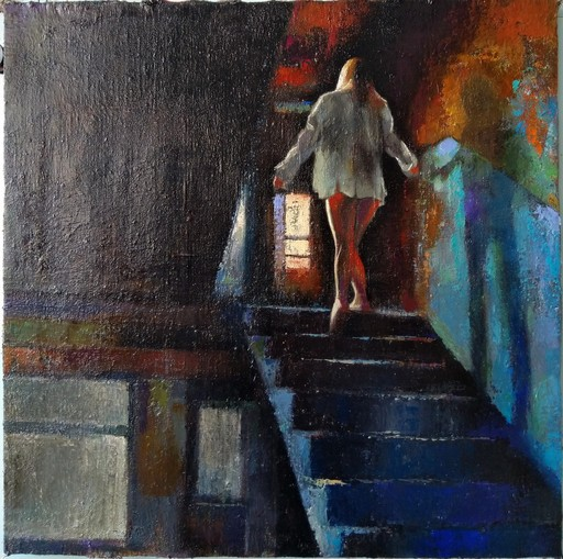 Ohanyan KAMSAR - Peinture - Inquisitive