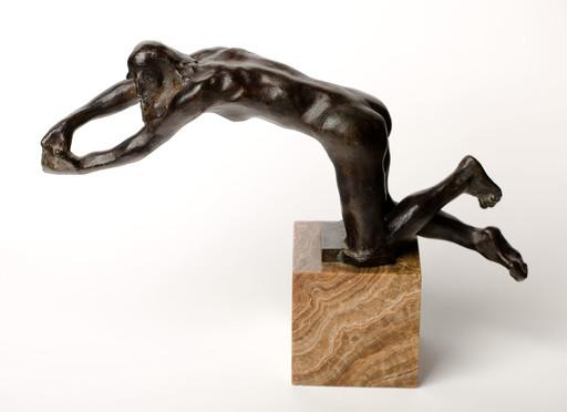 奥古斯特•罗丹 - 雕塑 - Vieillard suppliant, version à genoux