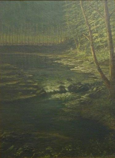 Alexis Jean FOURNIER - Pittura - Rapids on the Rum River