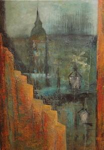 Géraldine THEUROT - Peinture - Stockholm I    (Cat N° 4930)