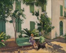 阿尔伯特·马尔凯 - 绘画 - Le repos devant la maison