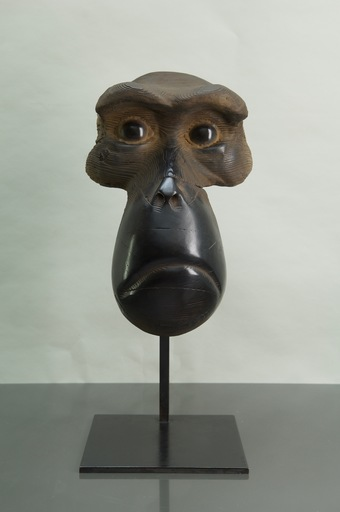 Quentin GAREL - Sculpture-Volume - Masque de Macaque