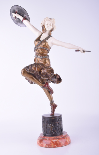 Claire COLINET - Sculpture-Volume - Untitled (Dancer with Shield and Arrow)