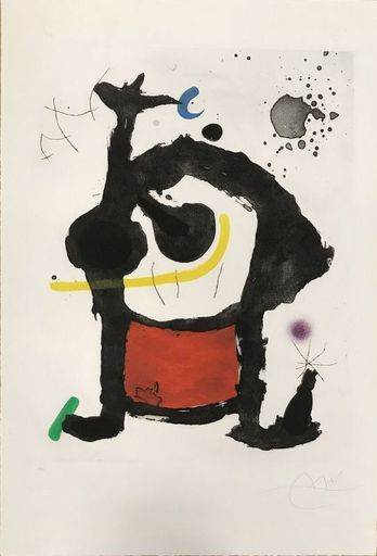 Joan MIRO - Estampe-Multiple - Bethsabée