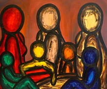 Francesco RUSPOLI - Pintura - Three Women    (Cat N° 5577)
