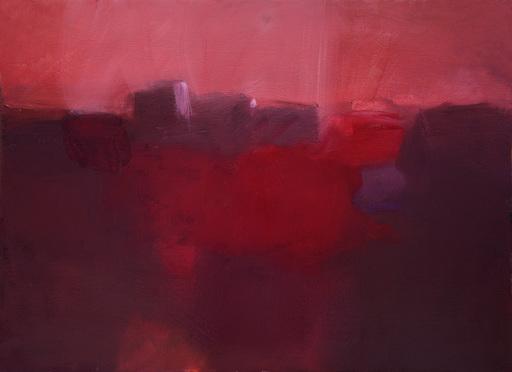 Klaus Karl MEHRKENS - Painting - Rosso di sera
