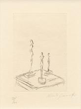 Alberto GIACOMETTI (1901-1966) - Three Figurines
