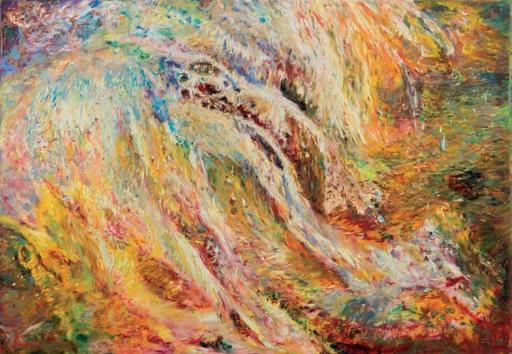 Ekaterina VORONA - Painting - Soft gold