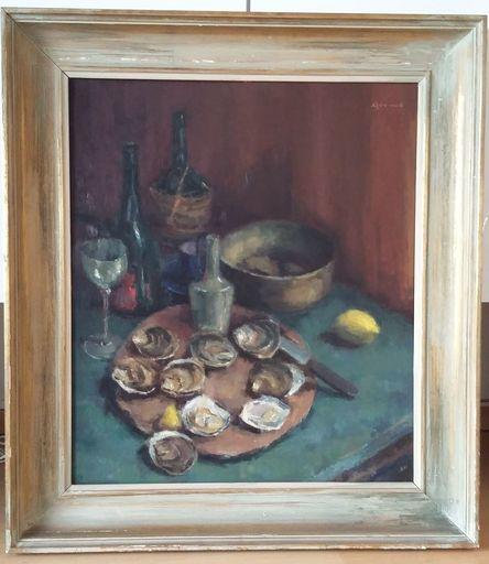 Vic DOOMS - Painting - oesters