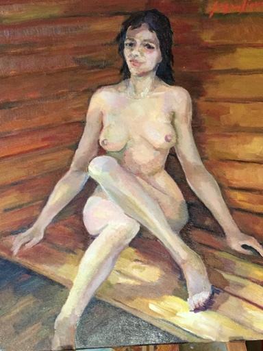 Serge SIEVIC - Peinture - Sauna