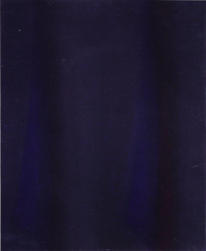 Claudio OLIVIERI - Pittura - Azzurro a rendere