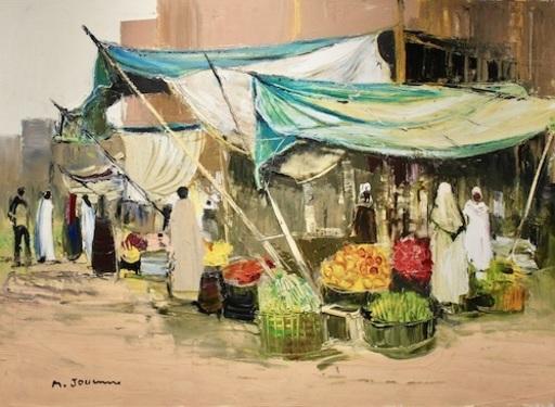 Michel JOUENNE - Peinture - Les Toiles Turquoise