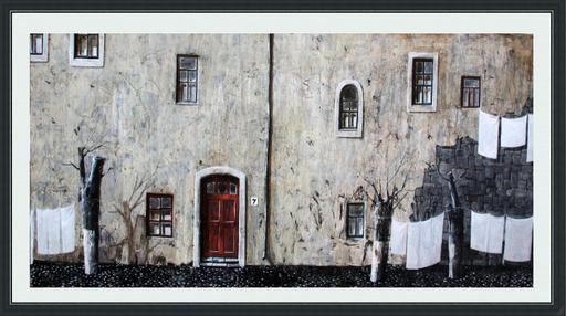 Zurab GIKASHVILI - Peinture - White house