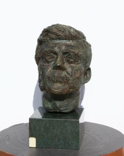 Salvador DALI - Scultura Volume - Bust of John F. Kennedy