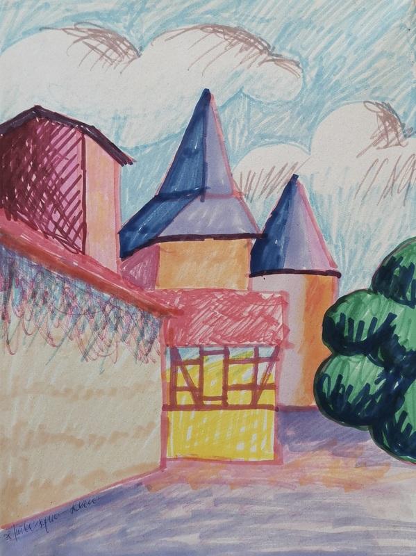 SALVO - Disegno Acquarello - Il più bel sogno