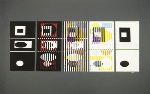 Yaacov AGAM - Print-Multiple - 5 Phases