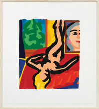 Tom WESSELMANN (1931-2004) - Nude with Picasso