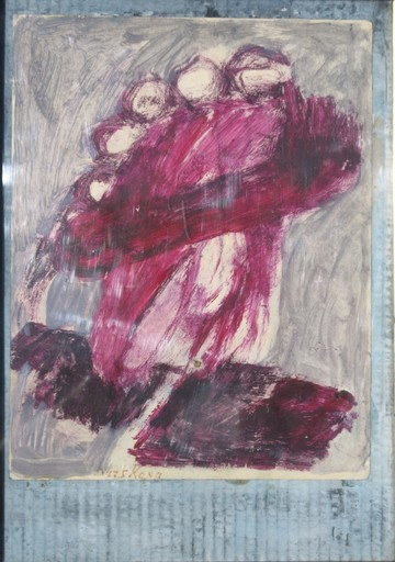 "Ida KARSKAYA - Pintura - ""LA DAME AU CHAPEAU"""