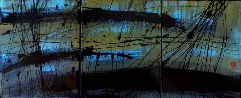 Marie Edmée SEGUIN - Painting - Signes I