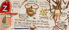 "Jean-Michel BASQUIAT (1960-1988) - ""Hollywood Africans.."" by Jean-Michel Basquiat"