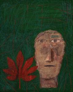 Mimmo PALADINO - Gemälde - Etrusco I             .