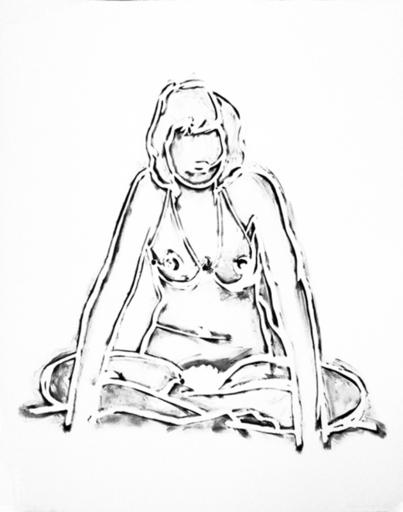 Tom WESSELMANN - Grabado - Monica Sitting Cross-Legged