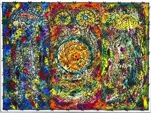 Dario VIEJO - Pintura - Consagración