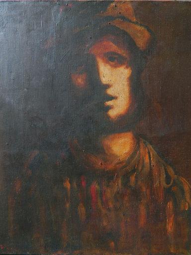 Sylvain VIGNY - 绘画 - PORTRAIT - HOMME - RITRATTO