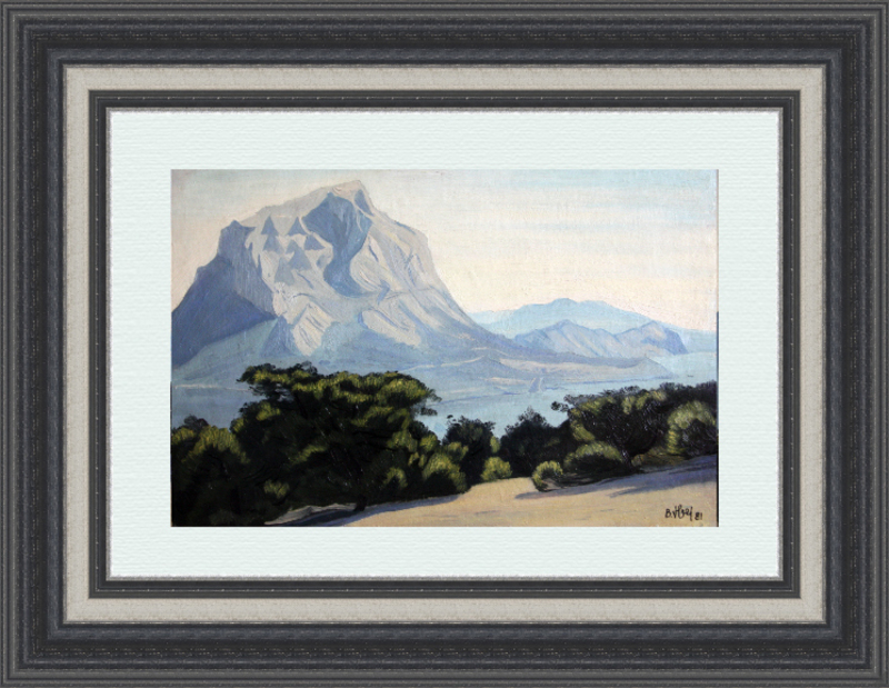 Valeriy NESTEROV - Gemälde - Crimea. Noviy Svet