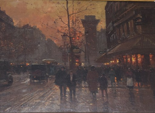 Édouard CORTES - Pintura - Saint Denis