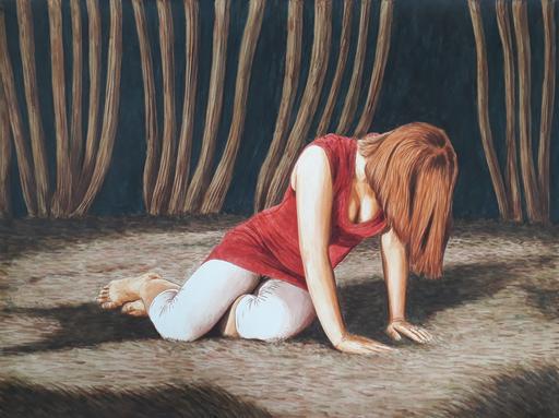 Erlend STEINER LOVISA - Painting - Eline    (Cat N° 6381)