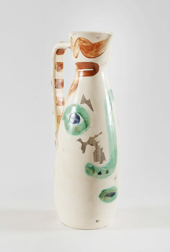Pablo PICASSO - Ceramiche - Pichet Visage