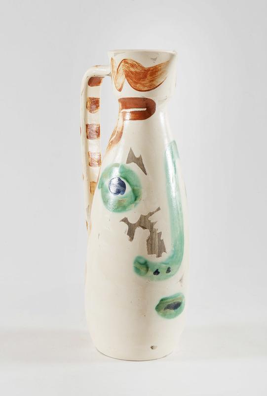 巴勃罗•毕加索 - 陶瓷  - Pichet Visage