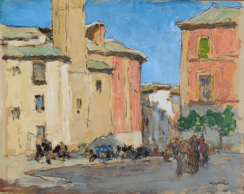 Georges GOBO - Peinture