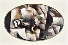 "Robert MARC - Pintura - Composition ""TE"""