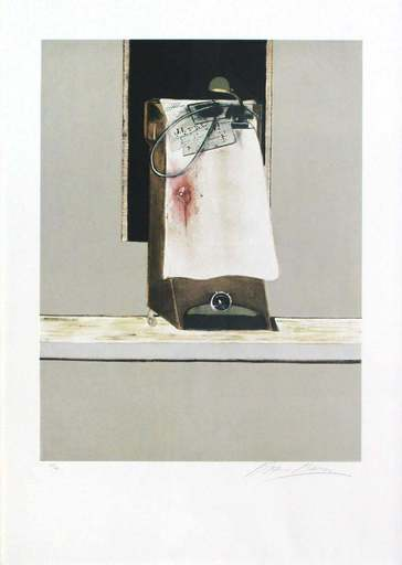 "Francis BACON - Estampe-Multiple - Panel from ""Triptych 1986-1987"""