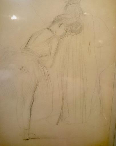 Jean-Louis FORAIN - Drawing-Watercolor