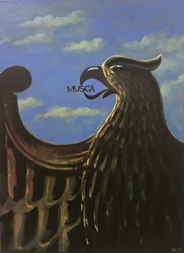 Damir MURATOV - Painting -  Eagle and fly