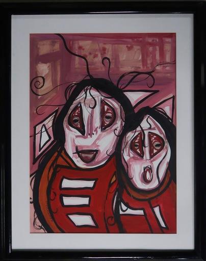 D.J. TAPAQUON - Painting