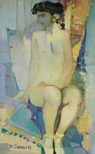 Mikhaïl TUROVSKY - Painting - Ballet Dancer