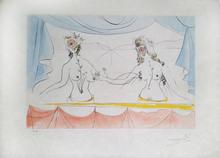Salvador DALI (1904-1989) - New Mythological Suite/ Les Dames de la Renaissance